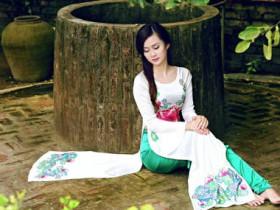 溫柔嫵媚的胡志明市西貢女子